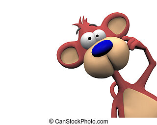 γελοιογραφία , μαϊμού