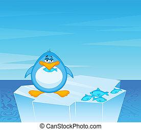 γελοιογραφία , πιγκουίνος