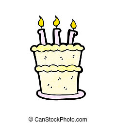 γελοιογραφία , τούρτα γενεθλίων