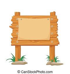 γελοιογραφία , marketing., σήμα , ταξιδεύω , αφίσα , announcements., noticeboard , ξύλινος