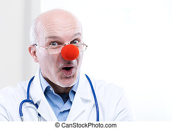γελωτοποιός , γιατρός