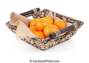 γεμάτος , καλαθοσφαίριση , βέργα λυγαριάς , απομονωμένος , φόντο. , πορτοκάλι , φρέσκος , άσπρο , ανταμοιβή