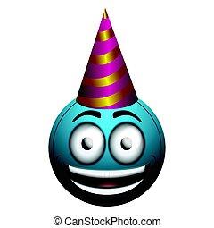 γενέθλια, απομονωμένος,  emote