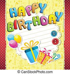 γενέθλια , ευτυχισμένος