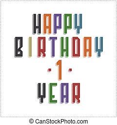 γενέθλια , ευτυχισμένος , κάρτα , χαιρετισμός