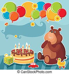 γενέθλια, κάρτα