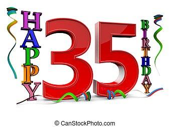 γενέθλια , όλα , καλός , 35