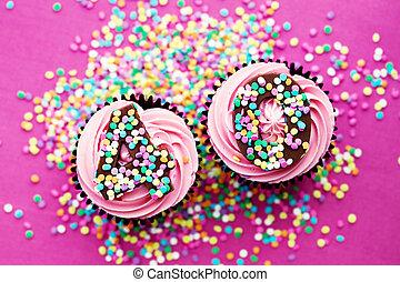 γενέθλια,  40th,  Cupcakes