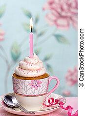 γενέθλια , cupcake