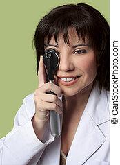 γενική εξέταση υγείας , όραση