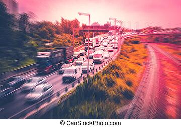γενική ιδέα , άμαξα αυτοκίνητο , κίνηση , πελτέs , κυκλοφορία , αμαυρώ , εθνική οδόs