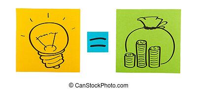 γενική ιδέα , έγχρωμος , διανοούμενος , χαρτί , sheets.,...