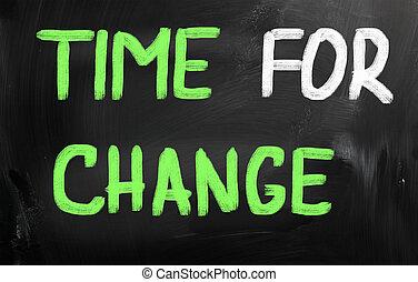 γενική ιδέα , αλλαγή , ώρα