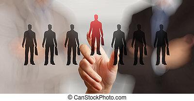 γενική ιδέα , ανθρώπινο όν ακόλουθοι , χέρι , αποφασίζω , ...