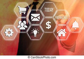 γενική ιδέα , απροσδόκητος , δηλώνω , γράψιμο , εδάφιο , έτοιμος , λέξη , ποιότητα , preparedness., ζωή , events., περίπτωση , επιχείρηση , ή