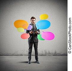 γενική ιδέα , δίκτυο , κοινωνικός