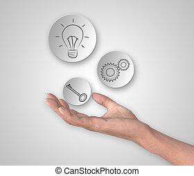 γενική ιδέα , δημιουργικός