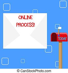 γενική ιδέα , διαδικασία , εδάφιο , κενό , ανοίγω , σημαία , δρόμος , online , αγαθός αριστερός , μεγάλος , process., φάκελοs , κουτί για γράμματα , έννοια , αυτοματοποιημένος , δεδομένα , πάνω , αναγγέλλω , signalling., εισέρχομαι , μικρό , γραφικός χαρακτήρας , ή