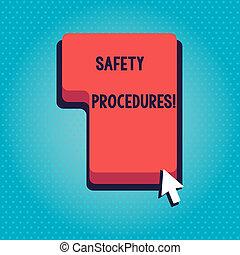 γενική ιδέα , διαδικασία , εδάφιο , πληκτρολόγιο , κλικ , procedures., πότε , γράψιμο , ασφάλεια , βήματα , αιτία , κόκκινο , απόκλιση , κατεύθυνση , περιγραφή , επιχείρηση , μπορώ , cursor., κλειδί , πιέζω , απώλεια , λέξη , διαταγή , βέλος , ή