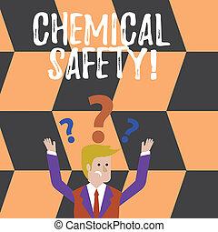 γενική ιδέα , εδάφιο , σύγχυσα , ελαχιστοποιητικές , οποιαδήποτε , χημικός , ερώτηση , όπλα , γράψιμο , περιβάλλον , επάνω , βαθμολογία , safety., δικός του , ριψοκινδυνεύω , επιχείρηση , εξάσκηση , χημική ουσία , επιχειρηματίας , αίρω , έκθεση , αμφότεροι , λέξη , head.