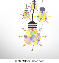 γενική ιδέα , ελαφρείς , ιδέα , δημιουργικός , φόντο , βολβός