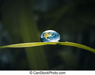 γενική ιδέα , ενέργεια , σταγόνα , νερό , αγίνωτος γαία , φρέσκος
