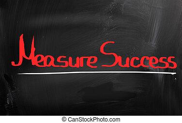 γενική ιδέα , επιτυχία , μέτρο