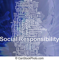γενική ιδέα , ευθύνη , φόντο , κοινωνικός