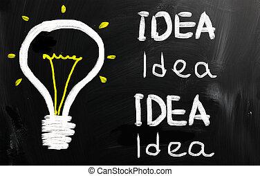 γενική ιδέα , ιδέα , επιχείρηση , γράψιμο