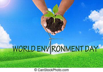 γενική ιδέα , κόσμοs , περιβάλλον , ημέρα