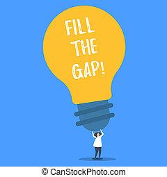 γενική ιδέα , λέξη , επιχείρηση , απών , γεμίζω , εδάφιο , puzzle., gap., διάλυμα , τμήμα , σωστό , βάζω , γλώσσα , γράψιμο , του , αυτόs