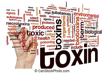γενική ιδέα , λέξη , τοξίνη , σύνεφο