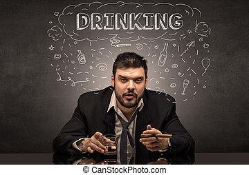 γενική ιδέα , μεθυσμένος , ναρκωτικό , ναρκωτικό , αλκοολικός , πόσιμο , επακόλουθο μέθης , άντραs