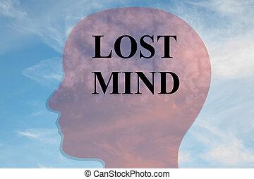 γενική ιδέα , μυαλό , αόρ. του lose