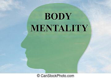 γενική ιδέα , νοοτροπία , σώμα