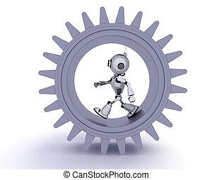 γενική ιδέα , ρομπότ , ταχύτητες