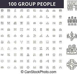 γενική ιδέα , σύνολο , περίγραμμα , άνθρωποι , θέτω , απεικόνιση , εικόνα , μικροβιοφορέας , γραμμή , αναχωρώ