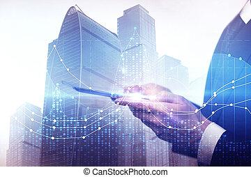 γενική ιδέα , τεχνολογία , εμπόριο