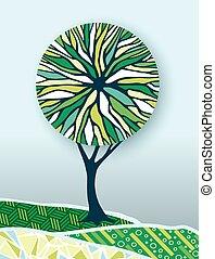 γενική ιδέα , φύση , δέντρο , εικόνα , περιβάλλον , πράσινο
