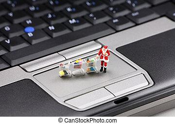 γενική ιδέα , ψώνια , xριστούγεννα , online