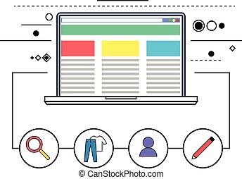 γενική ιδέα , blogging, εικόνα