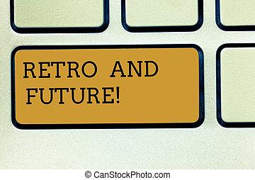 γενική ιδέα , keypad , εδάφιο , αντίτυπο δίσκου , αισιόδοξος , πληκτρολόγιο , μήνυμα , δημιουργώ , ιπτάμενος , γράψιμο , intention, εκδοχή , retro , future., αναπαριστώ , άμαξα αυτοκίνητο , robots , έννοια , κλειδί , μέλλον , idea., ηλεκτρονικός υπολογιστής , γραφικός χαρακτήρας