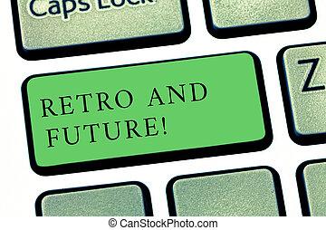 γενική ιδέα , keypad , εδάφιο , αντίτυπο δίσκου , αισιόδοξος , πληκτρολόγιο , μήνυμα , δημιουργώ , ιπτάμενος , γράψιμο , intention, εκδοχή , retro , future., αναπαριστώ , επιχείρηση , άμαξα αυτοκίνητο , robots , κλειδί , μέλλον , λέξη , idea., ηλεκτρονικός υπολογιστής