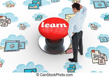 γεννώ , r , digitally , εναντίον , μαθαίνω