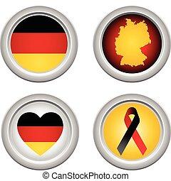 γερμανία , κουμπιά