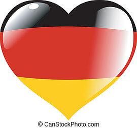 γερμανία , μέσα , καρδιά