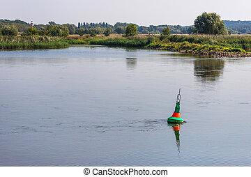 γερμανία , σύνορο , ποτάμι , oder, γυαλίζω