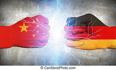 γερμανία , vs , κίνα