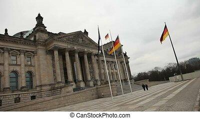 γερμανίδα , parliament-reichstag, βερολίνο