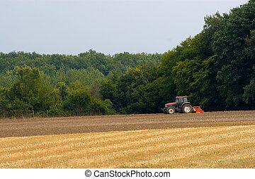 γεωργία , τρακτέρ
